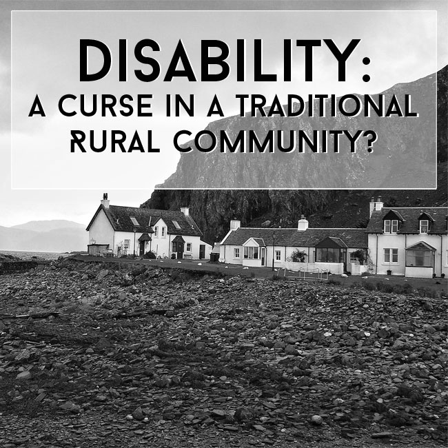 disability is not a curse The curse of fenric was a novelisation based on the 1989 television serial the curse  millington causing judson's disability is elaborated on  not millington,.