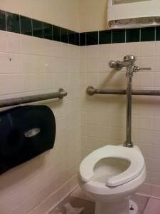 Who can find the toilet paper?